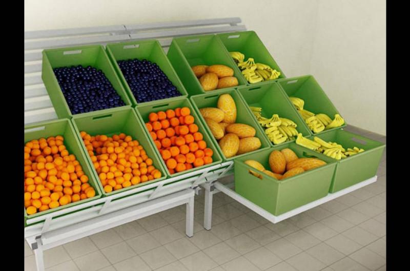 Развал для овощей и фруктов